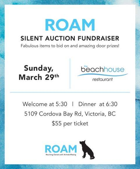 ROAM Silent Auction Fundraiser